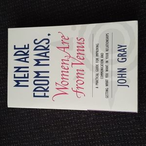 Men Are From Mars Women Are From Venus by John Gray Book